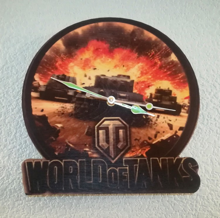 Часы World of Tanks